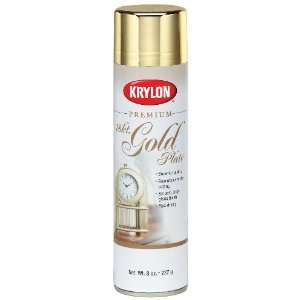 Krylon 1000 Premium Metallic Spray Paint, Gold