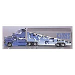 Detroit Lions NFL White Rose Tractor Trailer 98 Sports
