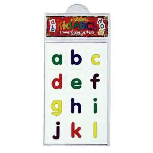 Lowercase Magnetic Letters Toys & Games