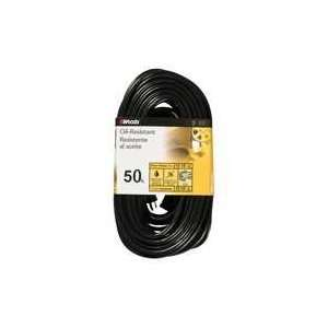 Oil Resist Outdoor Extension Cord, 50