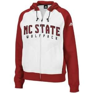 adidas North Carolina State Wolfpack Ladies White Two Tone
