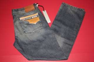 NWT MENS Big Star Union Straight EXILE Jean MSRP $98 SIZE 38X32 #1282