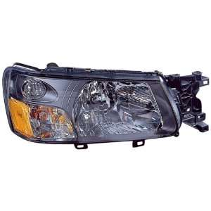 Subaru Forester Replacement Headlight Assembly   Passenger