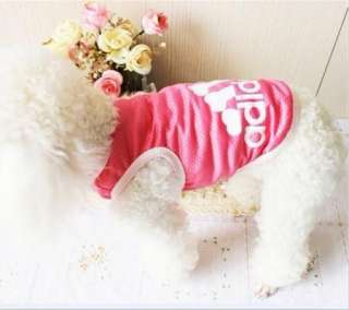 Cute Pet Dog Clothes T Shirt 3 Colors  Size S,M,L,XL,XXL