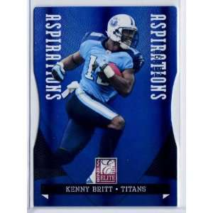 2011 Donruss Elite Aspirations #96 Kenny Britt /82