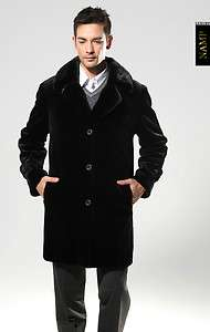 2012 Mens Top luxury mink fur coat MINK COAT $16,900 SizeXXL