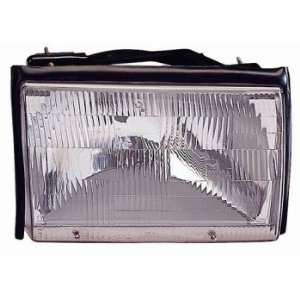 FORD MUSTANG 87 93 HeadLight Assembly Passenger Side