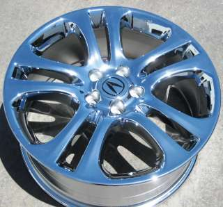 NEW 19 FACTORY ACURA RDX OEM CHROME WHEELS RIMS MDX TL CL ACCORD