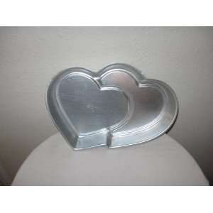 Wilton Cake Pan Double Hearts