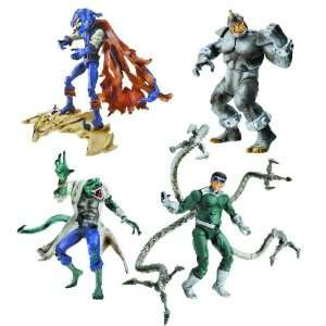 Spider Man Origins Villain Action Figures Toys & Games