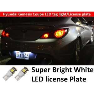 2012 Hyundai Genesis Coupe Led License Plate Bright Tag
