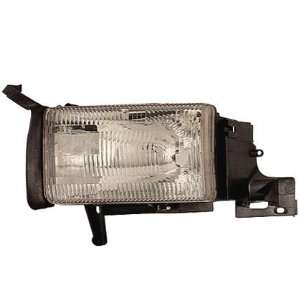 94 01 DODGE RAM PICKUP Left Headlight (W/O CORNER LAMP) (1994 94 1995