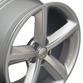 18 A5 Style Wheels   Silver 18x8 Rim Fits Audi SET