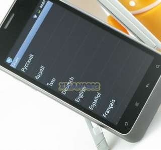 UnlockedAndroid 2.3 Capacitive 3G MTK6573 Dual Sim Smart Cell