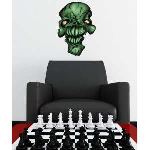 Vinyl Wall Decal Graphic Skull Head JH123B Everything