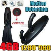 4GB Motion Detection Spy Clothes Hook Camera Hidden DVR