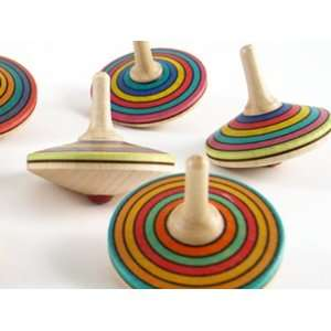 Wooden Spinning Top   Sprint Toys & Games