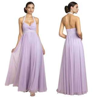 Beaded Halter Neck Formal Evening Gown Dresses AU 6~24