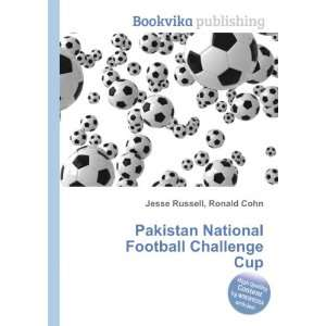 Pakistan National Football Challenge Cup Ronald Cohn
