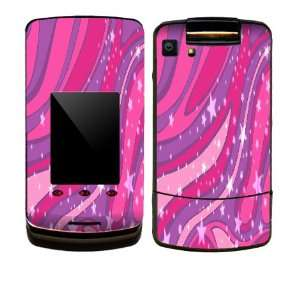 Warp Pink Design Decal Protective Skin Sticker for