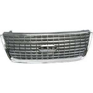 06 FORD EXPEDITION GRILLE SUV, All Chrome, Eddie Bauer/XLT Model (2003