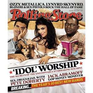 American Idol Judges, 2006 Rolling Stone Cover Poster by