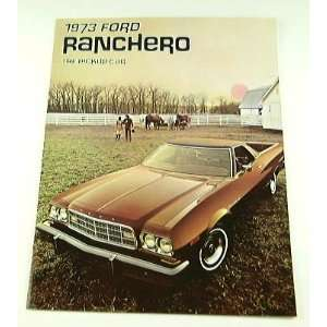 1973 73 Ford RANCHERO Truck BROCHURE 500 GT Squire