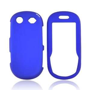 For Samsung T249 Rubberized Hard Case Cover BLUE Cell