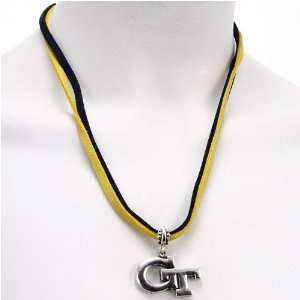 Georgia Tech Yellow Jackets Double Cord Necklace Jewelry