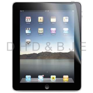 Clear LCD Screen Protector Film Cover for Apple iPad