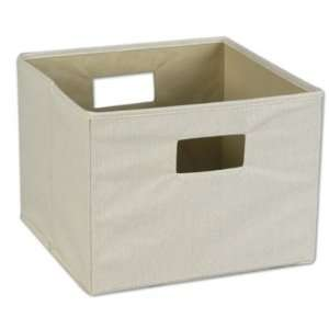 Natural Canvas Bin   by Household Essentials
