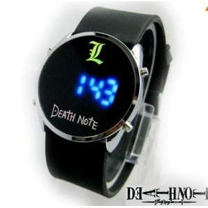 Death Note Japanese Anime Blue LED Watch (Round)