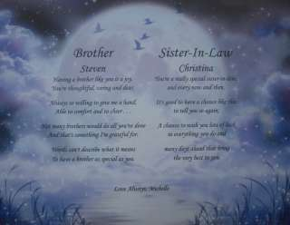 IN LAW PERSONALIZED POEMS THOUGHTFUL CHRISTMAS CARD GIFT IDEA