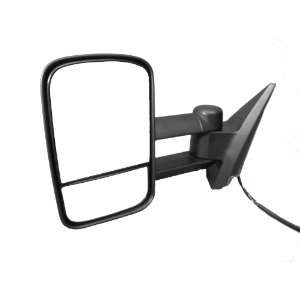 LH MIRROR POWER TRAILER TOW TYPE W/O SIGNAL Automotive