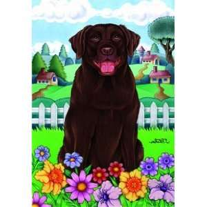 Chocolate Labrador Retriever   by Tomoyo Pitcher, Spring Dog Breed 28