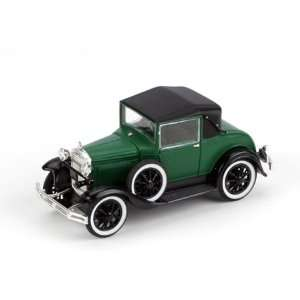 1/50 Die Cast 1931 Ford Model A Coupe, Dark Green Toys