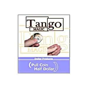 Pull Coin  Half Dollar  Tango  Money Street Magic Toys & Games