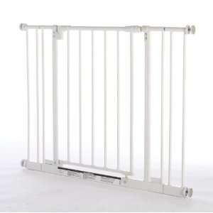 Northstates 4910S Easy Close Metal Gate with Two Extensions Baby