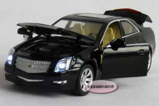 New Cadillac 132 CTS Alloy Diecast Model Car With Sound&Light Black