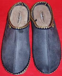 NEW Mens DEER STAGS WHEREVER Gray Slippers Casual Slip On House Shoes