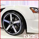 20 STAGGERED BLACK WHEELS RIMS MUSTANG INFINITI G35 G37 SEDAN COUPE X5