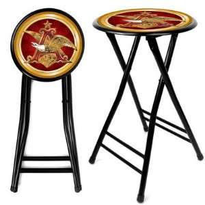 Anheuser Busch A & Eagle 24 Inch Cushioned Stool Fathers Day Birthday