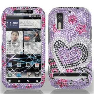 love full diamond for us cellular motorola electrify cover case spice