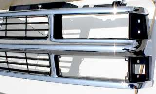 Chrome Grille 94 98 CHEVY Pickup Suburban Chevrolet