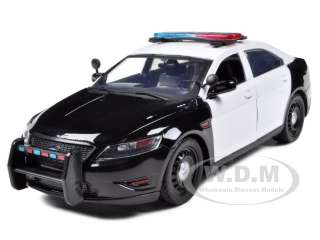 FORD POLICE CAR CONCEPT UNMARKED BLACK/WHITE 124