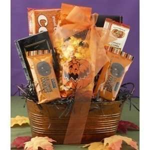 Halloween Goodies Themed Gift Basket  Grocery & Gourmet