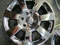 04 11 Ford Expedition Factory 18 Wheels Chrome Clad OEM Rims F150 3658
