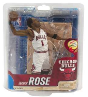 NBA Series 20 Figure Derrick Rose 2 Chicago Bulls *New*