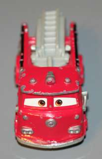 Disney Pixar CARS Movie RED Radiator Springs Fire Dept Truck Mega