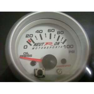 Pressure Gauge, Electrical Oil Temp Gauge, Electrical Water Temp Gauge